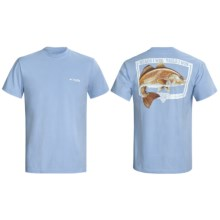 Columbia Sportswear PFG Heads and Tails T-Shirt - UPF 15, Short Sleeve (For Men) in White Cap - Closeouts