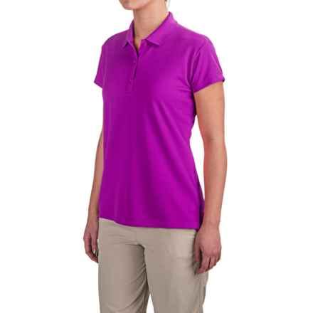 Columbia Sportswear PFG Innisfree Polo Shirt - UPF 50, Short Sleeve (For Women) in Bright Plum - Closeouts