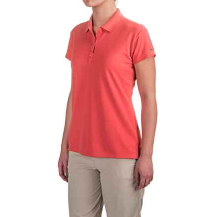 Columbia Sportswear PFG Innisfree Polo Shirt - UPF 50, Short Sleeve (For Women) in Hot Coral - Closeouts