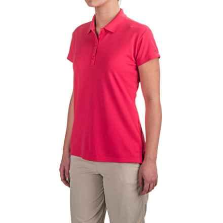 Columbia Sportswear PFG Innisfree Polo Shirt - UPF 50, Short Sleeve (For Women) in Punch Pink - Closeouts