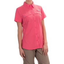 Columbia Sportswear PFG Lo Drag Shirt -Omni-Wick,® UPF 40, Short Sleeve (For Women) in Bright Geranium - Closeouts