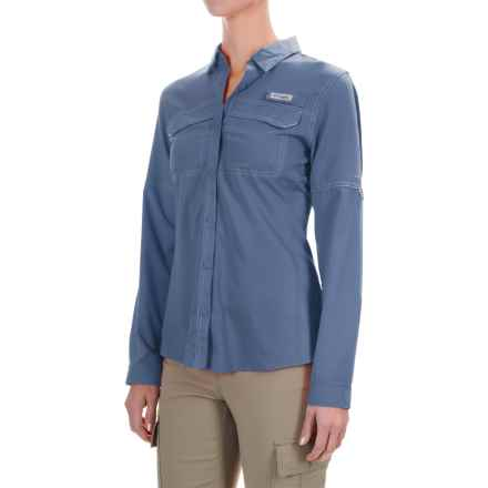 Columbia Sportswear PFG Lo Drag Shirt - UPF 40, Long Sleeve (For Women) in Bluebell - Closeouts