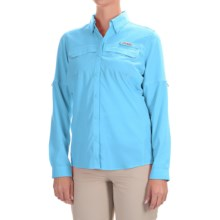 Columbia Sportswear PFG Lo Drag Shirt - UPF 40, Long Sleeve (For Women) in Coastal Blue - Closeouts