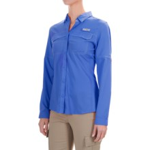 Columbia Sportswear PFG Lo Drag Shirt - UPF 40, Long Sleeve (For Women) in Stormy Blue - Closeouts