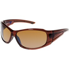 Columbia Sportswear PFG Lobos Sunglasses - Polarized in Crystal Lager/Sienna - Closeouts
