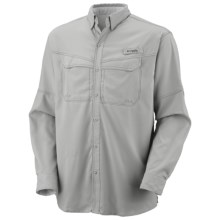 Columbia Sportswear PFG Low Drag Offshore Shirt - UPF 40, Long Sleeve (For Men) in Cool Grey - Closeouts