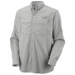 Columbia Sportswear PFG Low Drag Offshore Shirt - UPF 40, Long Sleeve (For Men) in Bright Peach