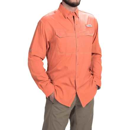 Columbia Sportswear PFG Low Drag Offshore Shirt - UPF 40, Long Sleeve (For Men) in Jupiter - Closeouts