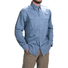 Columbia Sportswear PFG Low Drag Offshore Shirt - UPF 40, Long Sleeve (For Men) in Steel - Closeouts