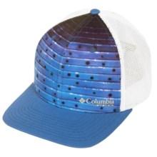 Columbia Sportswear PFG Mesh Ball Cap (For Men and Women) in Vivid Blue/Sailfish Print - Closeouts