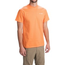 Columbia Sportswear PFG Nautical Wheel T-Shirt - Short Sleeve (For Men) in Koi/White - Closeouts