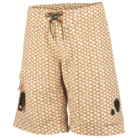 Columbia Sportswear PFG Offshore Teaser Action Boardshorts - UPF 30-50 (For Men) in Campfire, Redfish Scales