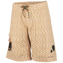Columbia Sportswear PFG Offshore Teaser Action Boardshorts - UPF 30 (For Men) in Campfire, Redfish Scales - Closeouts