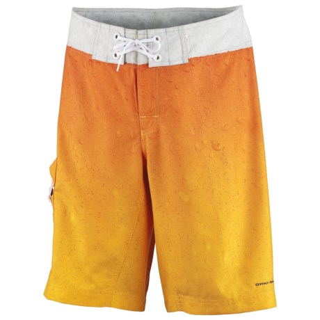 Columbia Sportswear PFG Offshore Teaser Action Boardshorts - UPF 30 (For Men) in Campfire, Redfish Scales