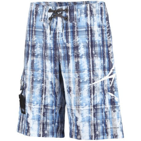 Columbia Sportswear PFG Offshore Teaser Action Boardshorts - UPF 30 (For Men) in Black/Sea Bones