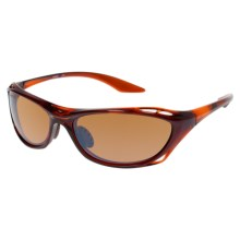 Columbia Sportswear PFG Pacifica Sunglasses - Polarized in Crystal Lager/Sienna - Closeouts