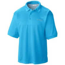 Columbia Sportswear PFG Perfect Cast Polo Shirt - Short Sleeve (For Big and Tall Men) in Bounty Blue - Closeouts
