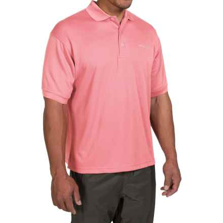 Columbia Sportswear PFG Perfect Cast Polo Shirt - Short Sleeve (For Big and Tall Men) in Sorbet - Closeouts