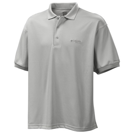 Columbia Sportswear PFG Perfect Cast Polo Shirt - UPF 30, Short Sleeve (For Men) in Cool Grey