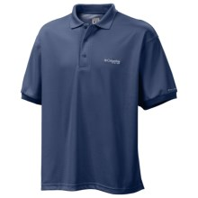 Columbia Sportswear PFG Perfect Cast Polo Shirt - UPF 30, Short Sleeve (For Men) in Night Tide - Closeouts