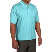Columbia Sportswear PFG Perfect Cast Polo Shirt - UPF 30, Short Sleeve (For Men) in Opal Blue - Closeouts