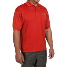 Columbia Sportswear PFG Perfect Cast Polo Shirt - UPF 30, Short Sleeve (For Men) in Sail Red - Closeouts