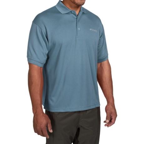 Columbia Sportswear PFG Perfect Cast Polo Shirt - UPF 30, Short Sleeve (For Men) in Steel