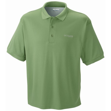 Columbia Sportswear PFG Perfect Cast Polo Shirt - UPF 30, Short Sleeve (For Men) in Turf Green