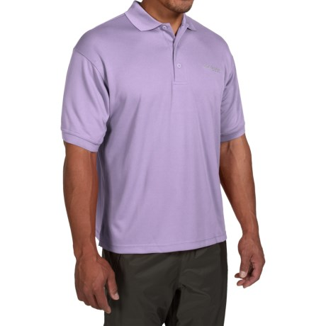 Columbia Sportswear PFG Perfect Cast Polo Shirt - UPF 30, Short Sleeve (For Men) in Whitened Violet