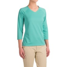 Columbia Sportswear PFG Skiff Agua Shirt - Omni-Wick®, UPF 50, 3/4 Sleeve (For Women) in Miami - Closeouts