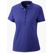 Columbia Sportswear PFG Skiff Guide Polo Shirt - UPF 30, Short Sleeve (For Women) in Light Grape - Closeouts