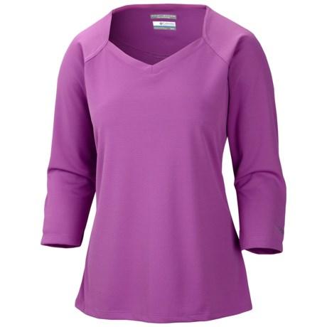 Columbia Sportswear PFG Skiff Guide Shirt - UPF 30, 3/4 Sleeve (For Women) in Blossom Pink