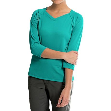 Columbia Sportswear PFG Skiff Guide Shirt - UPF 30, 3/4 Sleeve (For Women) in Mayan Green