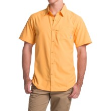 Columbia Sportswear PFG Slack Tide Camp Shirt - Omni-Wick®, UPF 50, Short Sleeve (For Men) in Amber - Closeouts