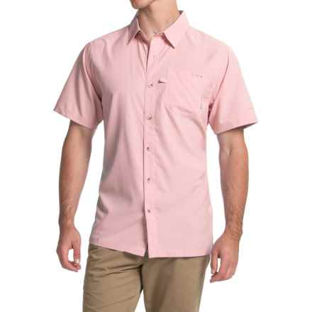 Columbia Sportswear PFG Slack Tide Camp Shirt - Omni-Wick®, UPF 50, Short Sleeve (For Men) in Satin Pink - Closeouts