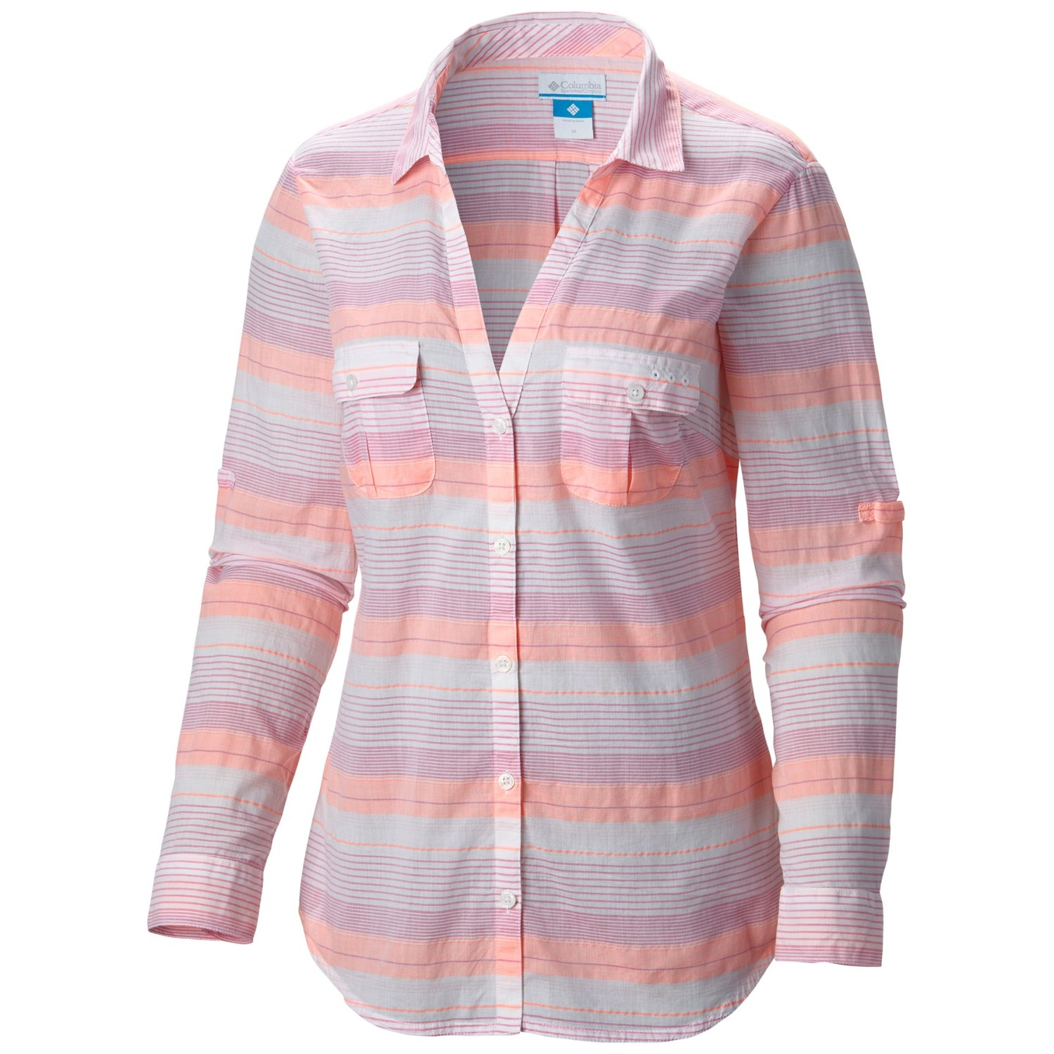 Columbia sportswear pfg sun drifter shirt long sleeve for Columbia shirts womens pfg