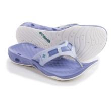 Columbia Sportswear PFG Sunbreeze Vent Cruz Flip-Flops (For Women) in Faded Sky/Miami - Closeouts