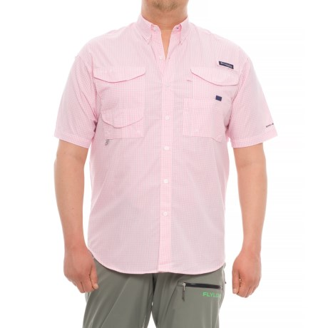 Columbia Sportswear PFG Super Bonehead Classic Shirt - UPF 30, Short Sleeve (For Big and Tall Men)