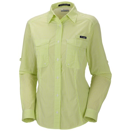 Columbia Sportswear PFG Super Bonehead Shirt - UPF 30, Long Sleeve (For Women) in Tippet/Gingham