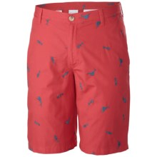 Columbia Sportswear PFG Super Bonehead Shorts - UPF 50 (For Men) in Sunset Red - Closeouts