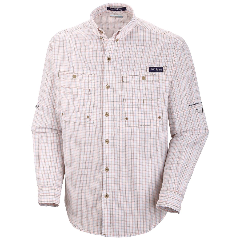 1columbia Sportswear Pfg Super Tamiami Fishing Shirt
