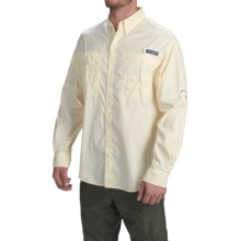 Columbia Sportswear PFG Super Tamiami Fishing Shirt - UPF 40, Long Sleeve (For Men) in Crescent Gingham - Closeouts