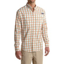 Columbia Sportswear PFG Super Tamiami Fishing Shirt - UPF 40, Long Sleeve (For Men) in Gulf Stream Plaid - Closeouts