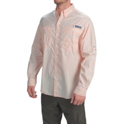 Columbia Sportswear PFG Super Tamiami Fishing Shirt - UPF 40, Long Sleeve (For Men) in Jupiter Gingham
