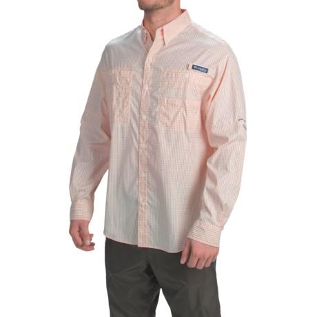 Columbia Sportswear PFG Super Tamiami Fishing Shirt - UPF 40, Long Sleeve (For Men) in Jupiter Gingham