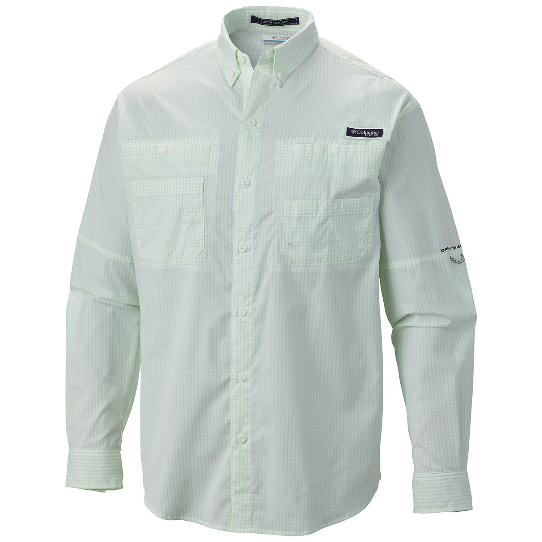 Columbia sportswear pfg super tamiami fishing shirt upf for Pfg fishing shirts