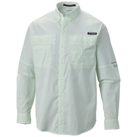 Columbia Sportswear PFG Super Tamiami Fishing Shirt - UPF 40, Long Sleeve (For Men) in Key West Gingham