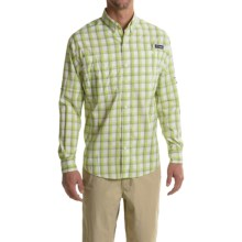 Columbia Sportswear PFG Super Tamiami Fishing Shirt - UPF 40, Long Sleeve (For Men) in Tippet Plaid - Closeouts