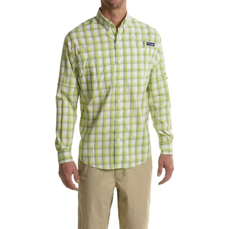 Columbia Sportswear PFG Super Tamiami Fishing Shirt - UPF 40, Long Sleeve (For Men) in Tippet Plaid