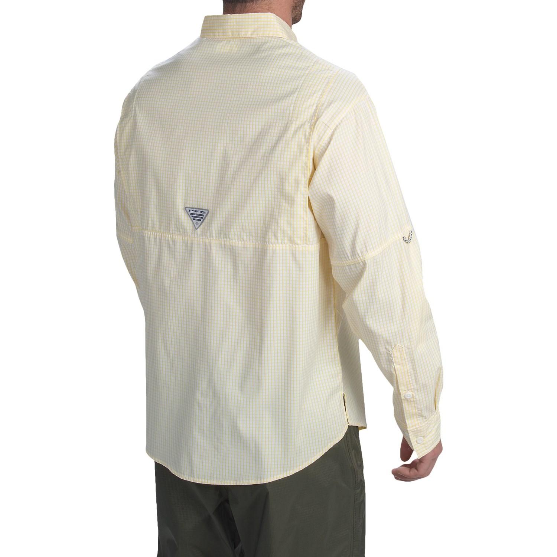 columbia sportswear pfg super tamiami fishing shirt for men